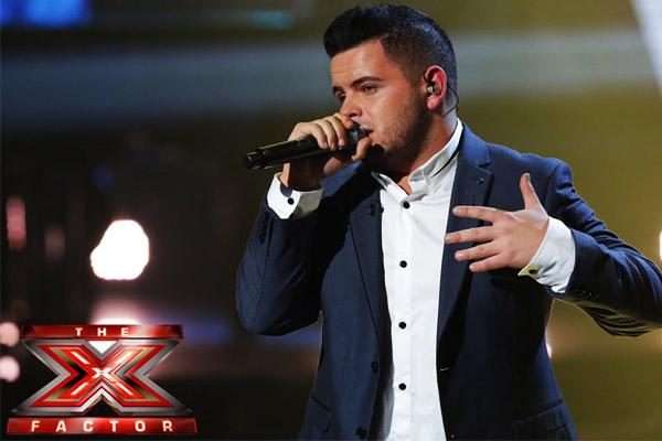 Paul Akister X Factor