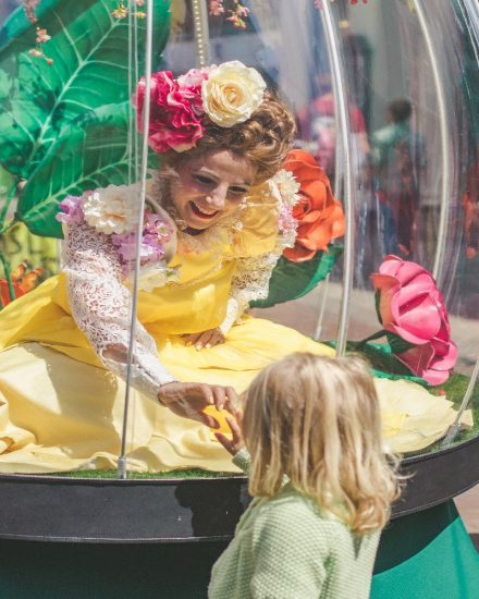 This is a perfect act for the little ones and is very interacting that brings the magical atmosphere